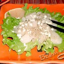 Блюда из морского гребешка.