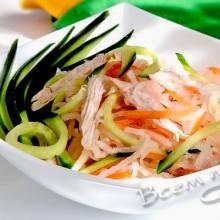 Вкусный и легкий салат
