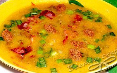 суп с грибами и чечевицей на воде