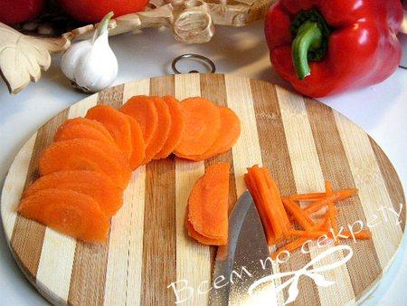 Морковь для лагмана из говядины