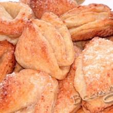Рецепт творожного печенья «Треугольники»
