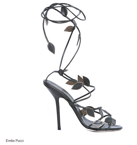 модная обувь - босоножки 2013
